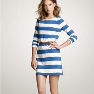 Jcrew Maritime Striped Dress
